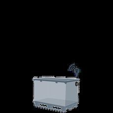 Behälter, Ladungsträger