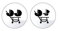 duette piroet kinderwagen geschwisterwagen zwilling einsatzmöglichkeiten diagramm