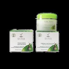 confezione regalo crema antirughe emaschera bava di lumaca e acqua termale di ischia