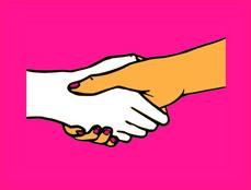 Frauen Fitness Symbolbild Hände schütteln Preistarife