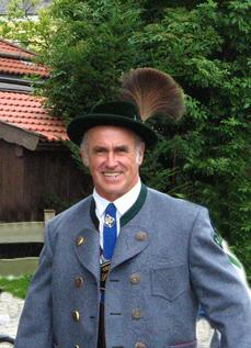 Sebastian Meier in Tracht