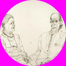Matthias Laurenz Gräff, Ernst und Isolde Hiesmayr (Ausschnitt)