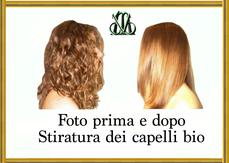 Stiratura  dei capelli
