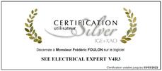 Certification utilisateur Silver IGE+XAO