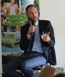 """Patrick Schreiber MdL, Obmann der CDU-Fraktion in der Enquete-Kommission """"Pflege älterer Menschen"""" im Sächsischen Landtages"""