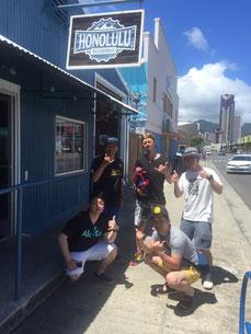 ハワイ社員旅行にて貸切チャーターツアーで訪れたホノルルビアワークス