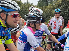 Alain Prost (VC Les Alpilles) était avec nous !