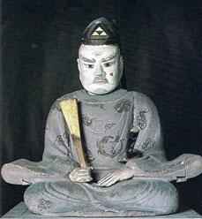 北条時政坐像。静岡県・願成就院蔵。