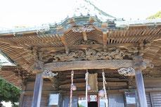 宮彫りが必見の西叶神社