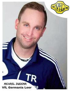 Nachträgliches Geschenk für Trainer Michael Zuidema