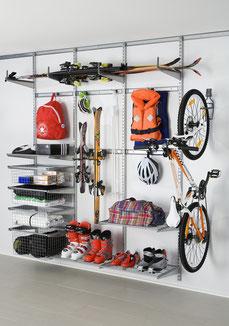 Elfa Regalsystem - Aufbewahrung Garage