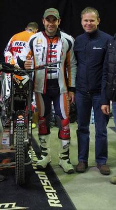 Champion Toni Bou (l) und Mario Mempör (r), Image: www.hallentrial.at