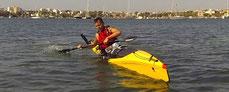 curso iniciacion kayak mallorca