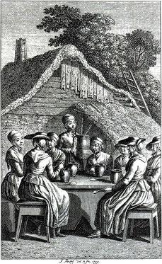 Beim Bierkränzchen (1799)