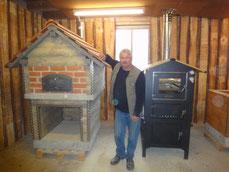 Pizza und Holzbacköfen