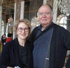 Avec Carla à Versailles (mars 2015)
