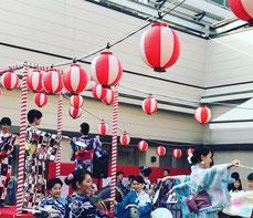 イベントで盆踊り!!