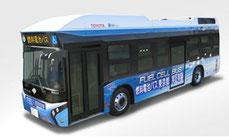 東京都の燃料電池バス