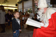 Nikolaus in der Gartenstadt Waltrop