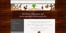 Neues Design www.Spangler-Holzwaren.de