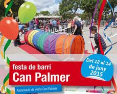 Programa de las Fiestas de Can Palmer 2015 en Viladecans