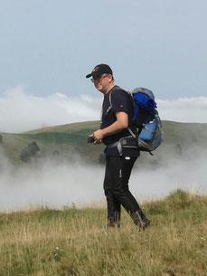 Marco ist zu Fuß in ganz Europa unterwegs