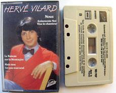 Cassette Hervé Vilard
