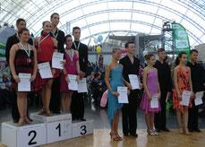 Siegerehrung Landesmeisterschaft Jugend C Latein 2014