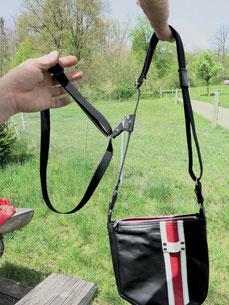 korrektes anziehen eines Revolverbags