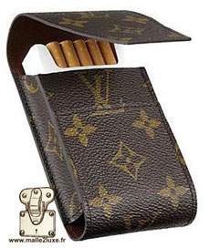 Etui a cigarettes Louis Vuitton 1990