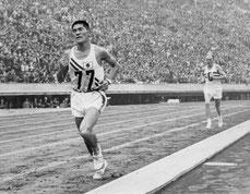 円谷選手 in 東京, 1964