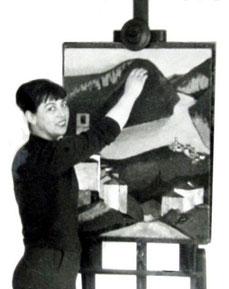 Margrit Schweicher, Kassel, 1960