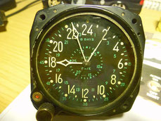 Waltham 8 days civil date aircraft clock