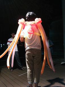 「天使の羽根(初号機)」 モデルは加藤君です。