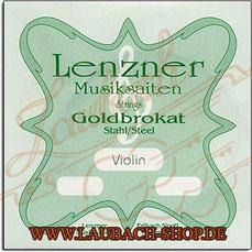 Lenzner Goldbrokat - Saiten für Violine