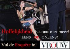 VROUW Hoffelijkheidsenquête Etiquette expert Gonnie Klein Rouweler