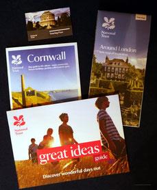 Unterlagen des National Trust