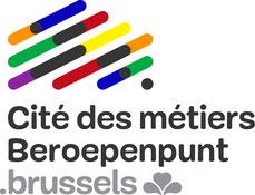 Logo Cité des métiers.brussels - Beroepenpunt.brussels