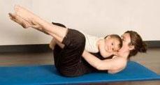 Yoga con bebes en sabadell
