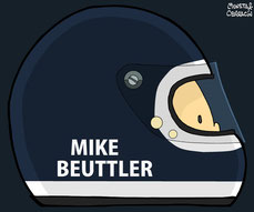 Helmet of Mike Beutler by Muneta & Cerracín