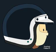 Helmet of Mike Beutler by Muneta & Cerracín