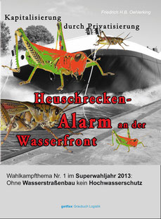 """Cover """"Heuschrecken-Alarm an der Wasserfront"""""""