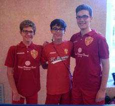 Gli Under 19 del Messina