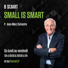 Jean Marc Sylvestre, Small is Smart, la chaine des audacieux