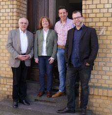 v.l.: Michael Brockerhoff, Gudrun Piesczek, Markus Herz, Lennart Welz