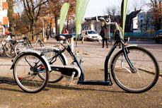 Dreiräder: Sicherheit und Komfort