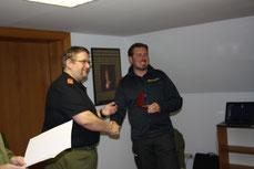 OBI Podlisca überreicht die Auszeichnung!