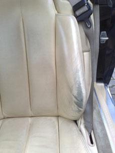 Autositz vor unserer Aufarbeitung...