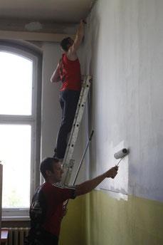 Malern im Patenhort