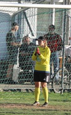 Trotz starker Leistung ausgeschieden: Celine Ziegler. Foto: Lanzke